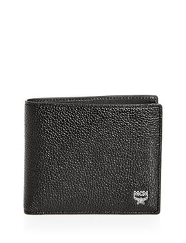 Ottomar Leather Bi Fold Wallet by Mcm