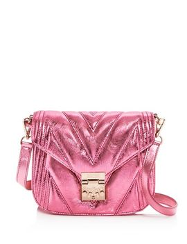 Patricia Small Quilted Leather Shoulder Bag by Mcm