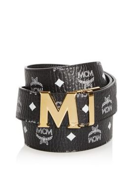 Claus Visetos Logo Buckle Belt by Mcm