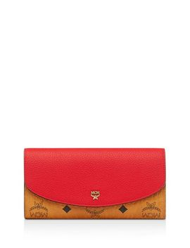 Visetos Flap Wallet by Mcm