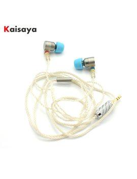 Tin Audio T2 Pro In Ear Earphone Double Dynamic Drive Hifi Bass Earphone Dj Metal 3.5mm Earphone Headset With Mmcx Free Shipping by Kaisaya