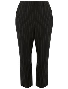 **Dp Curve Black Stripe Ankle Grazer Trousers by Dorothy Perkins