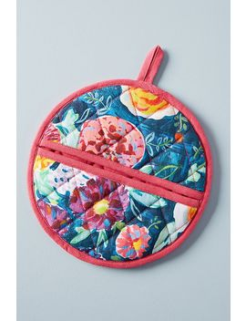 Emma Floral Potholder by Anthropologie