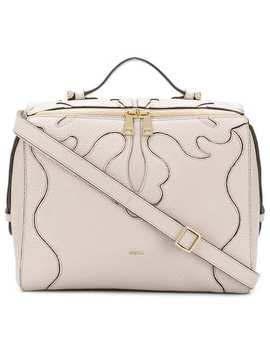 Stitched Panel Tote Bag by Furla