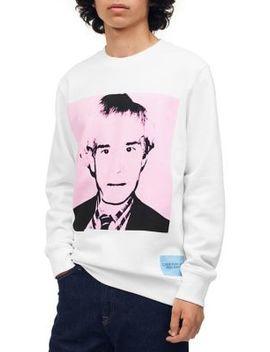 Warhol Portrait Crewneck Sweatshirt by Calvin Klein Jeans