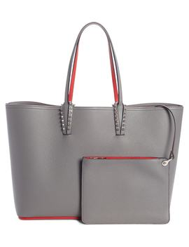 Cabata Calfskin Leather Tote by Christian Louboutin
