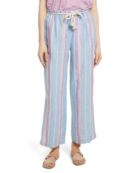Easy Stripe Linen Pants by Frame Denim