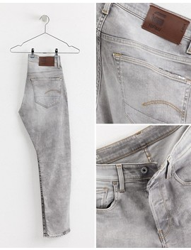 G Star 3301 Straight Tapered Jeans Light Aged by G Star