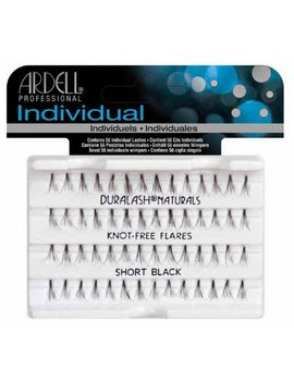 Ardell Individual Natural Lashes Knot Free   Short Black 56 Individual Lashes by Ardell