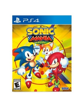 Sonic Mania Plus   Play Station 4 by Play Station