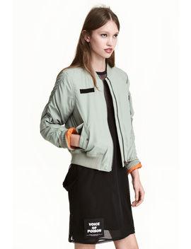 Jachetă De Aviator Cu Bretele by H&M