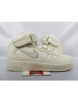Nike Air Force 1 Af1 Jewel Pack Swoosh Sail Off White 941913 100 Sz 8.5 Men by Nike