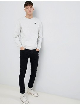 Jack & Jones Core Sweatshirt With Side Zip And Taped Hem by Jack & Jones