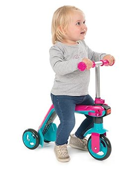 Smoby 7600750603 Reversible 2 In 1 Scooter Pink by Smoby