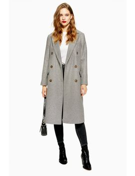 Melton Coat by Topshop