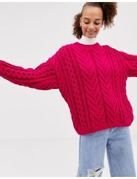 Collusion – Strickpullover Mit Zopfmuster by Collusion
