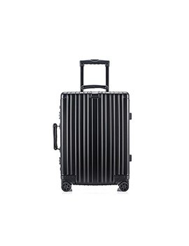 Suitcase Lock Carry Onsui Tcase Aluminum Hard Shell Luggage Case Carry On Spinner Suitcase Carry Onsui Tcase (Black)20inch by Chuwit