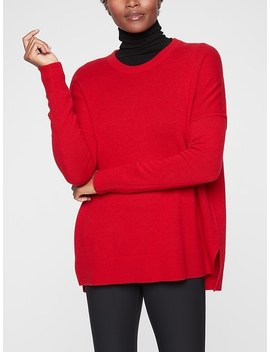 Perspective Wool Cashmere Crew by Athleta