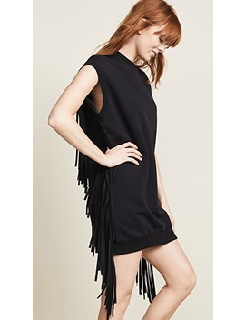 Fringe Dress by Msgm