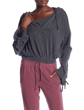 Ojai Crop Hoodie by Free People