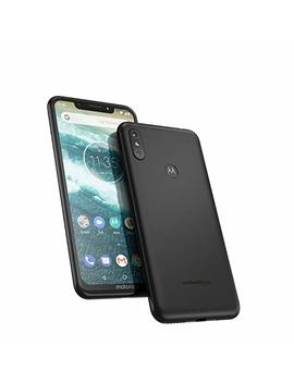 Motorola Moto One 64 Gb 5.9 Inch Android One Android 8.1 Uk Sim Free Smartphone With 4 Gb Ram And 64 Gb Storage (Dual Sim) – Ceramic Black by Motorola
