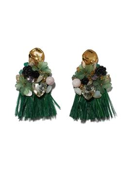 Palazzo Earrings by Lizzie Fortunato