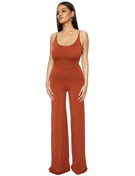 I Bring The Scoop Jumpsuit by Naked Wardrobe