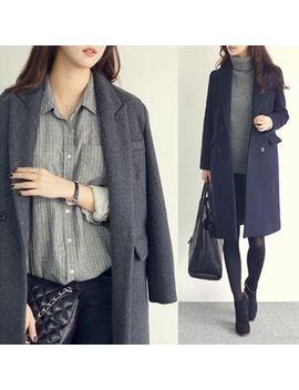 Coat Plain Knit   Otti by Otti