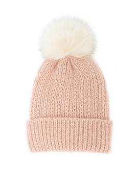 Brushed Pom Pom Beanie by Forever 21