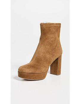 Yasmine Platform Boots by Diane Von Furstenberg