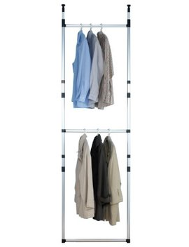Ruco Basic V945 Telescopic Clothes Tidy Rail Adjustable Width by Ruco