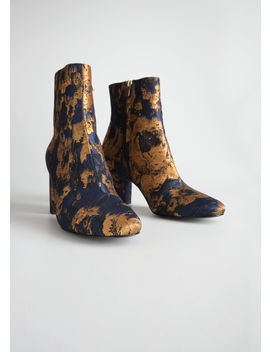 Jacquard Ankle Boots by & Other Stories