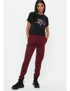 Black Rainbow New York Graphic T Shirt by Missguided