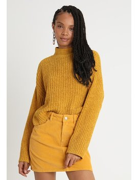 Wide Sleeve Chenille   Jumper by New Look