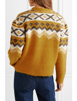 Fair Isle Knitted Sweater by Sea