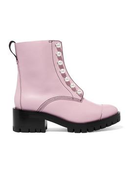 Hayett Ankle Boots Aus Leder Mit Kunstperlen by 3.1 Phillip Lim