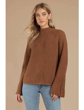Noelle Sienna Mock Neck Sweater by Tobi
