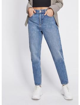 Mom Arlow High Waist Slim Blue Jeans by Miss Selfridge