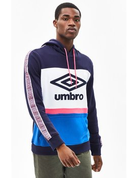 Umbro Tapered Logo Pullover Hoodie by Pacsun