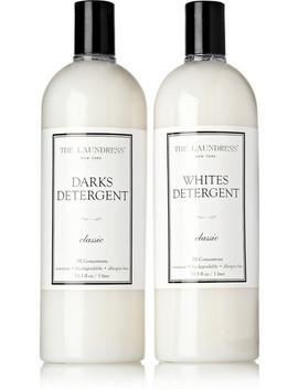 Set De Produits D'entretien Pour Les Couleurs Foncées Et Le Blanc by The Laundress