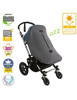 Snooze Shade Original Deluxe   Universal Fit Baby Pram Sunshade And Blackout Cover For Strollers, Buggies And Pushchairs by Snoozeshade