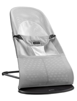 BabybjÖrn Bouncer Balance Soft (Silver/White, Mesh) by Baby Bjorn
