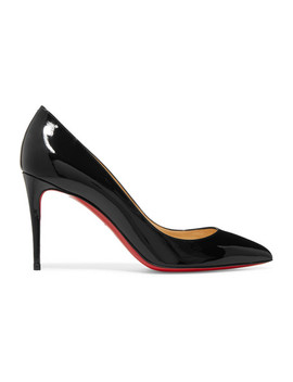 Escarpins En Cuir Verni Pigalle Follies 85 by Christian Louboutin