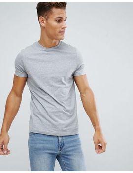 Asos Design   T Shirt Ras De Cou En Tissu Bio   Gris by Asos Design