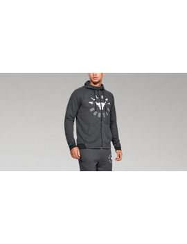 Ua X Project Rock Double Knit Full Zip Men's  Hoodie by Under Armour
