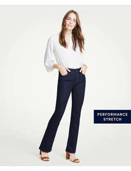 Petite Curvy Denim Boot Cut Jeans by Ann Taylor
