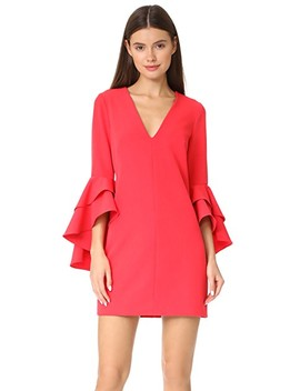 Cady Ruffle Dress by Milly