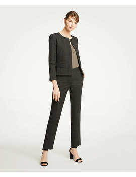 The Petite Ankle Pant In Dobby   Curvy Fit by Ann Taylor