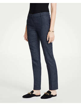 The Petite Ankle Pant In Mini Check   Curvy Fit by Ann Taylor
