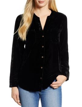 Velvet Shirt by Wit & Wisdom